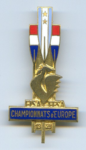 1959 Competitor Badge