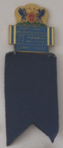 Competitor's badge