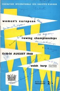 1960 programme autographed by VIII