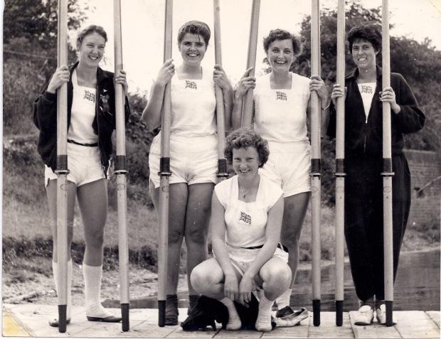 1960 quad standing large