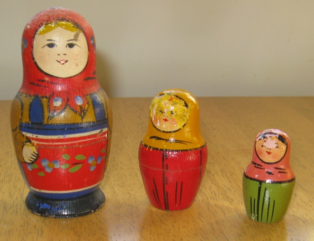 1960 Russian Doll given to crew