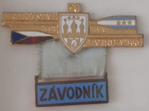 1961 competitor's badge