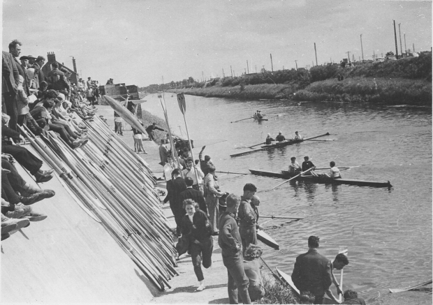Boating area at Dunkirk