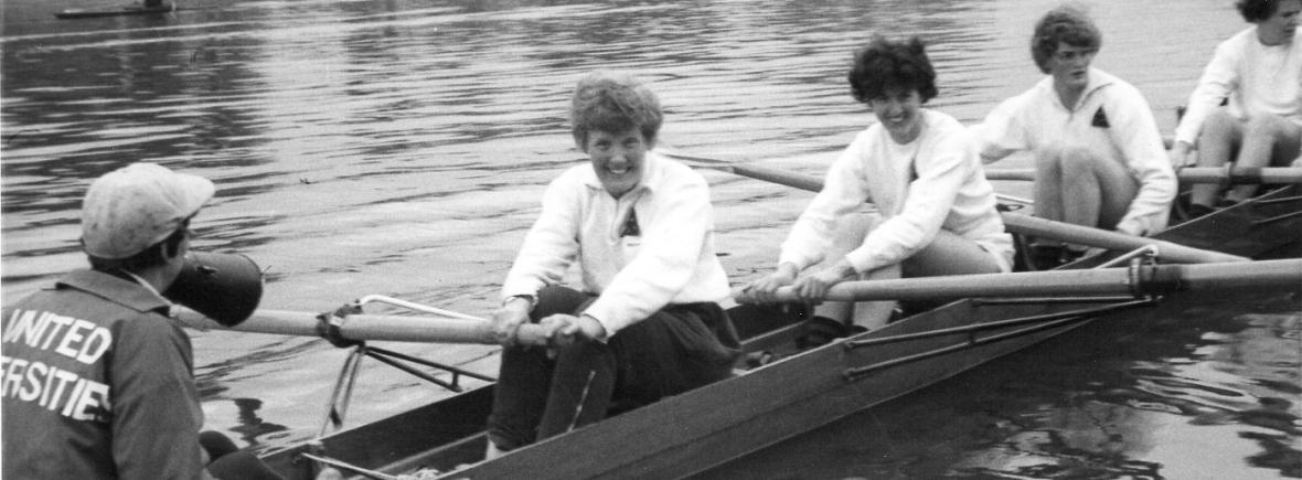 UU crew boating for 1962 WARA eights