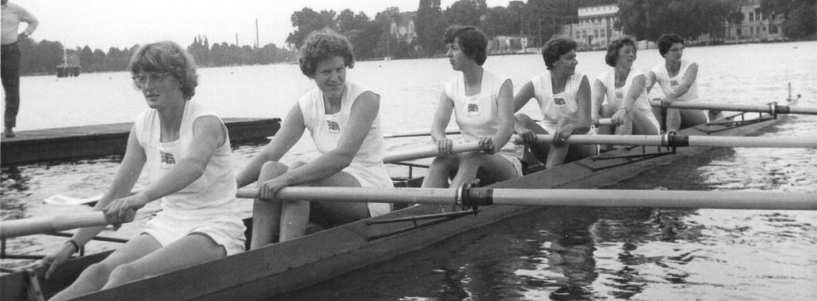 GB women's 8 boating