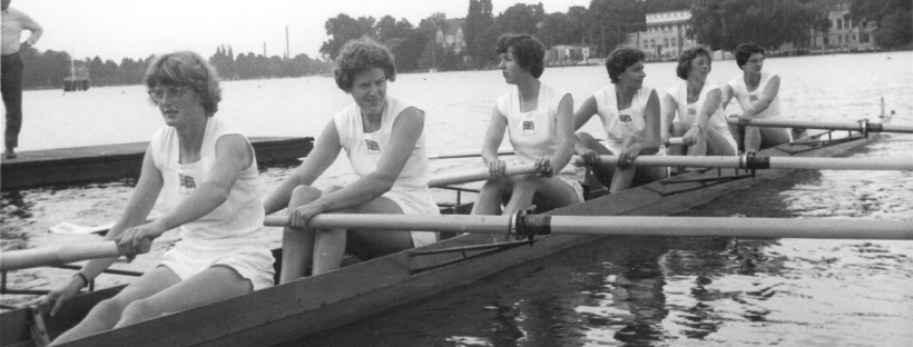 GB women's 8 boating