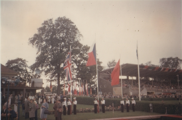 1962 Flag raised for Penny