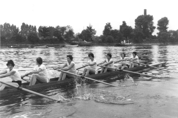 1962 July practice start at Chiswick UU VIII