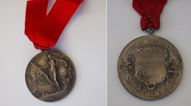 Penny Chuter's 1962 medal