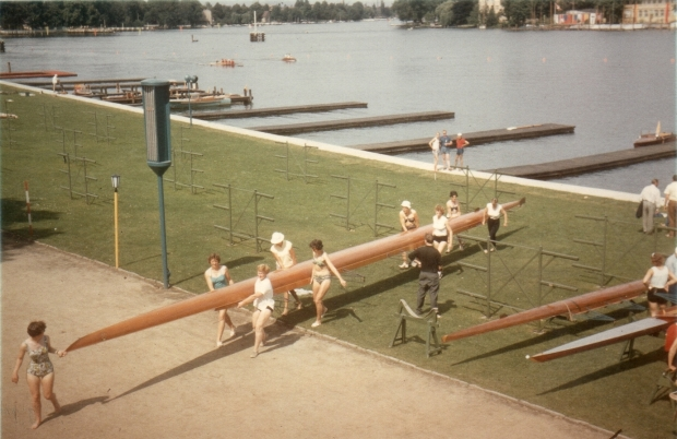 1962 practice outing in swimwear