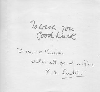 1963 card to Zona and Viv - inside