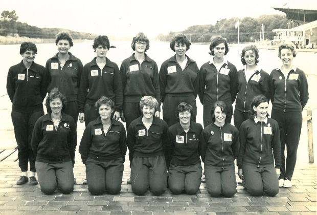 1964 European Championships 8 and 4+