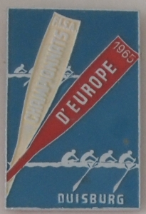 Metal competitor's badge