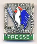 1967 press badge