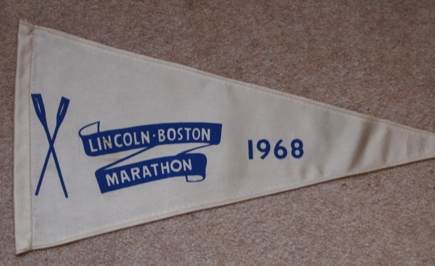 1968 Boston Marathon pennant