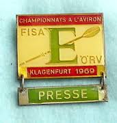 1969 press badge
