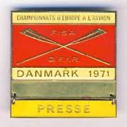 1971 press badge