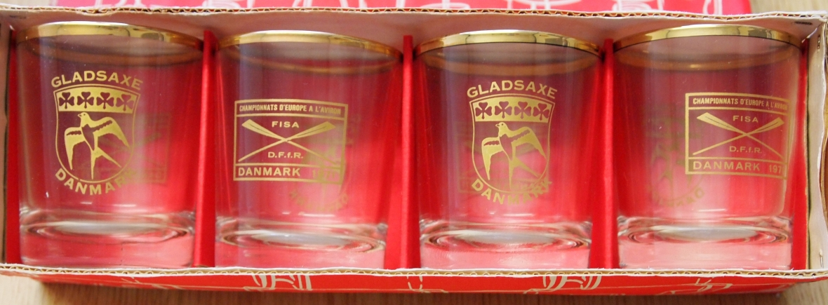 Souvenir glasses 1971
