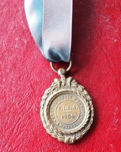 Bronze medal 1954. Photo (c) Helena Smalman-Smith