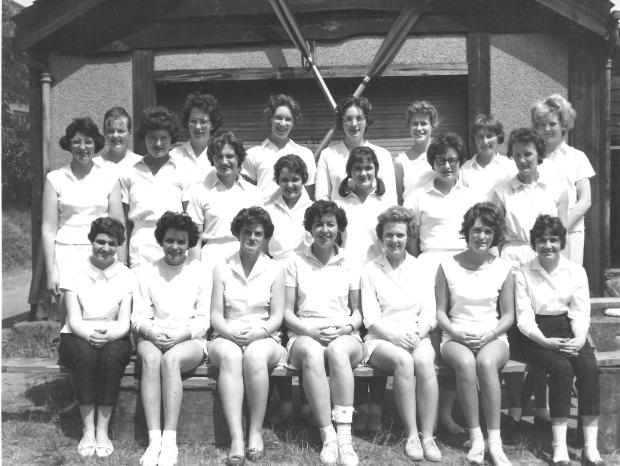 University of Southampton women's rowing club 1961 001