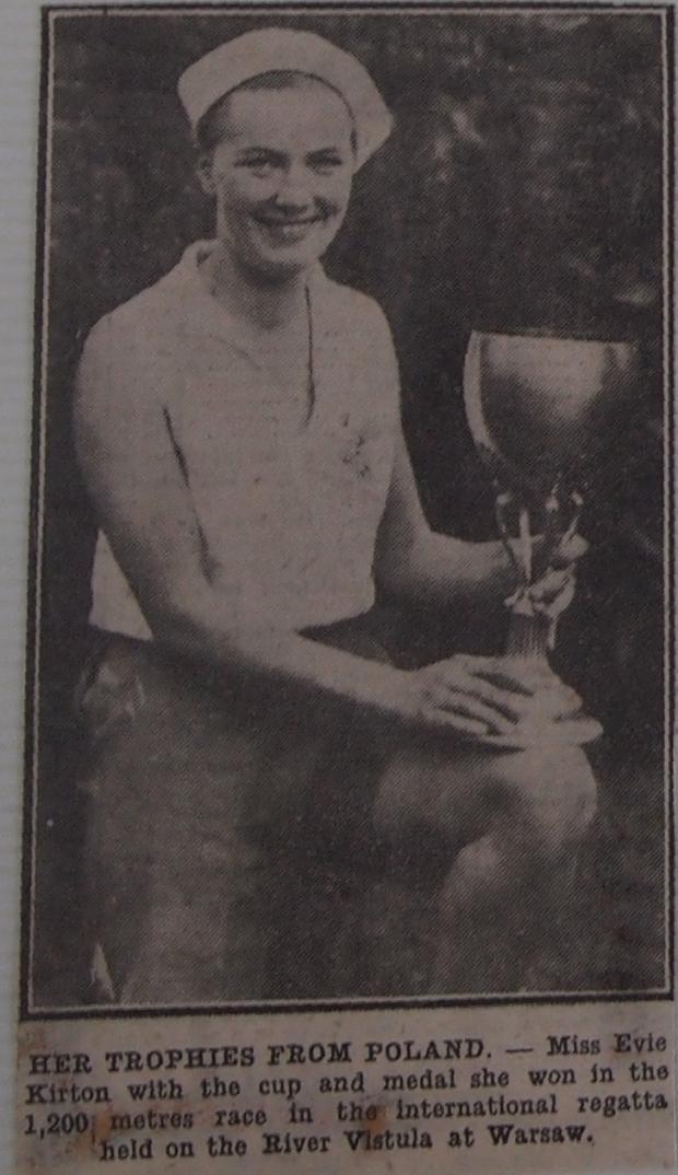 Evie Kirton, sculler