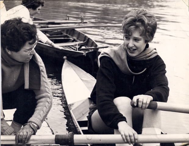 1960 Joan Filkins and Christine Dennis large