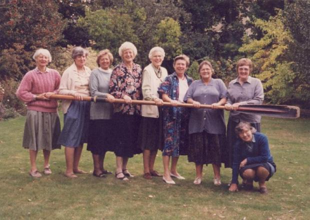 1960 VIII reunion in 1996