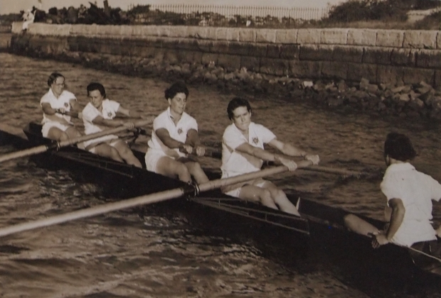 Australian rowing tour 1938