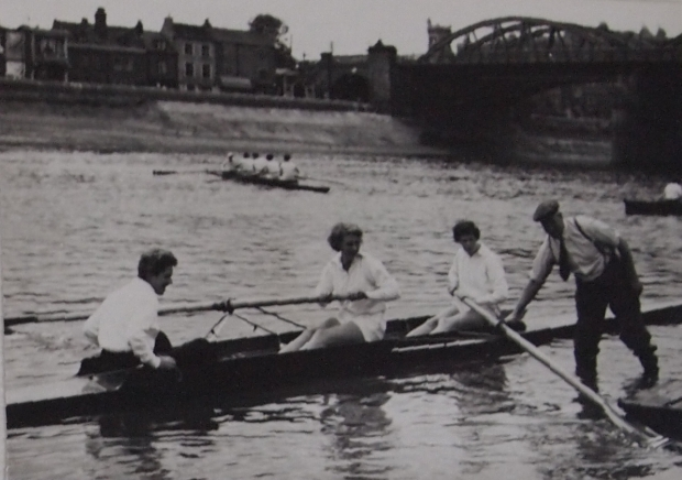 Women's coxed pair