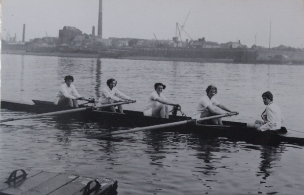 Rowing at Rotherhithe