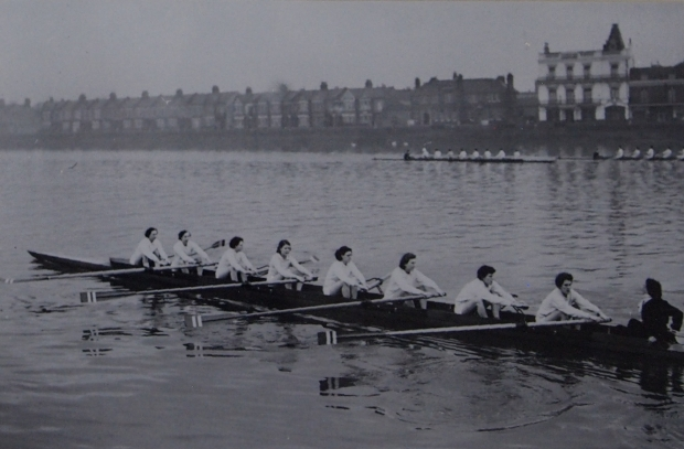 St George's Ladies rowing