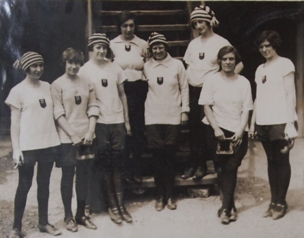 Women's rowing in the 1920s