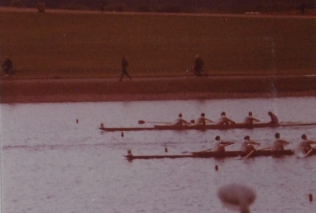 Photo finish at the National Championships 1973