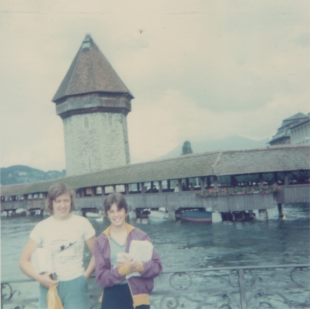 1975 Lucerne Webby and Sue Bailey