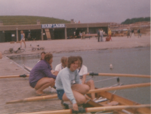 1975 Nat Champs 4+ winners with Penny