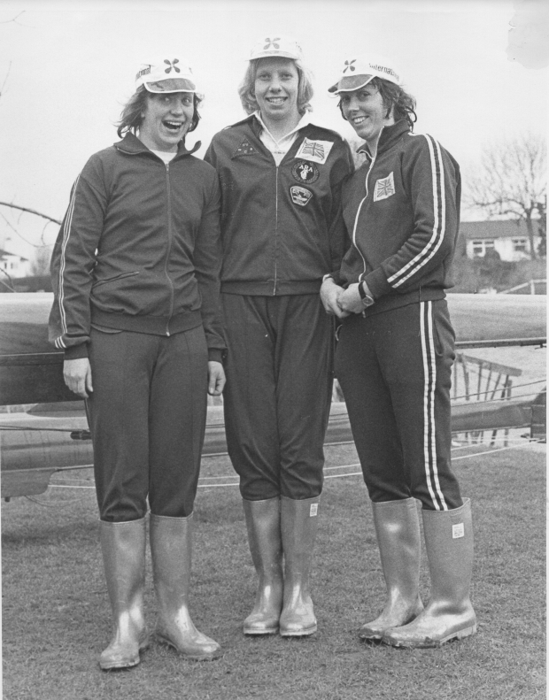 Gill Webb, Jean Guppy and Diana Bishop