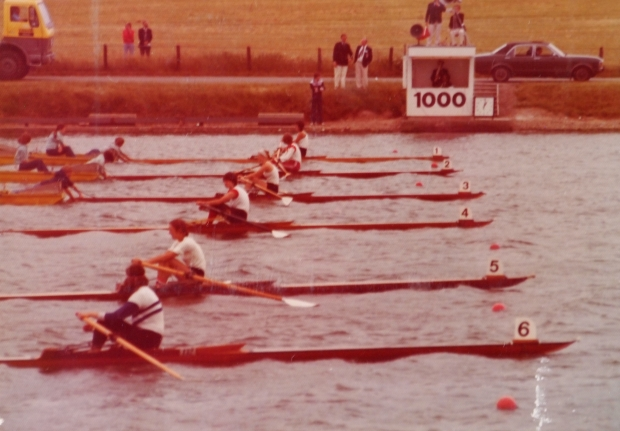 National Championships W1x Final 1977