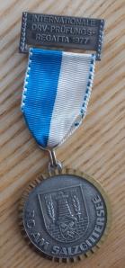 1977 Salzgitter Regatta medal