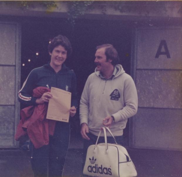 1978 Liz and Martin Pratt at Lucerne
