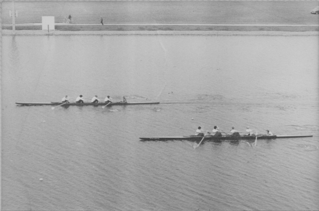 1978 – a W4+ trials race (probably) at Nottingham
