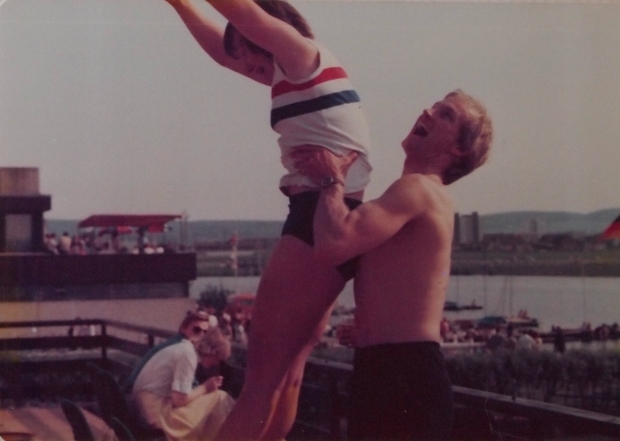 Ballet lift – Chris Blackwall and Gill Webb 1978