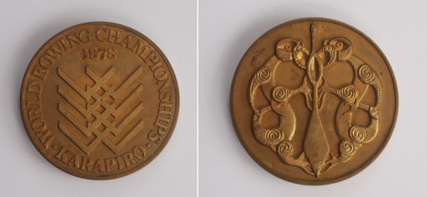 1978 World Rowing Championships commemorative medal