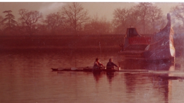 GB women's 2x and Roman galley.