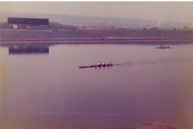 GB women's rowing trials in Nottingham 1978