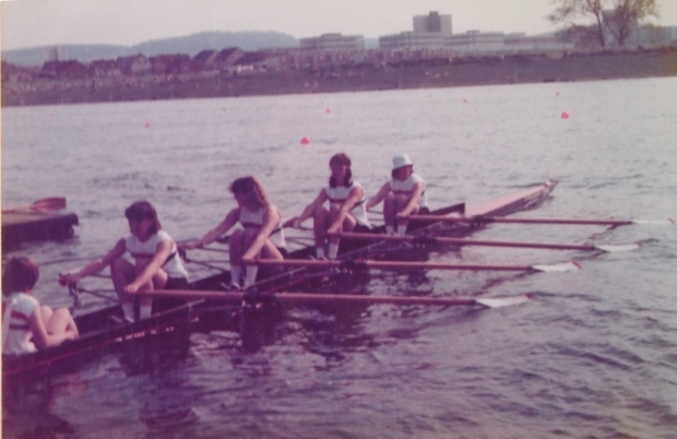 GB women's quad at Salzgitter 1978