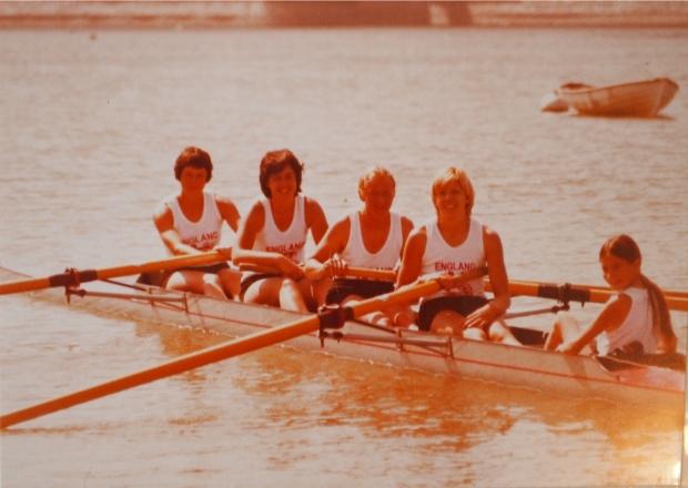 England W4+1978
