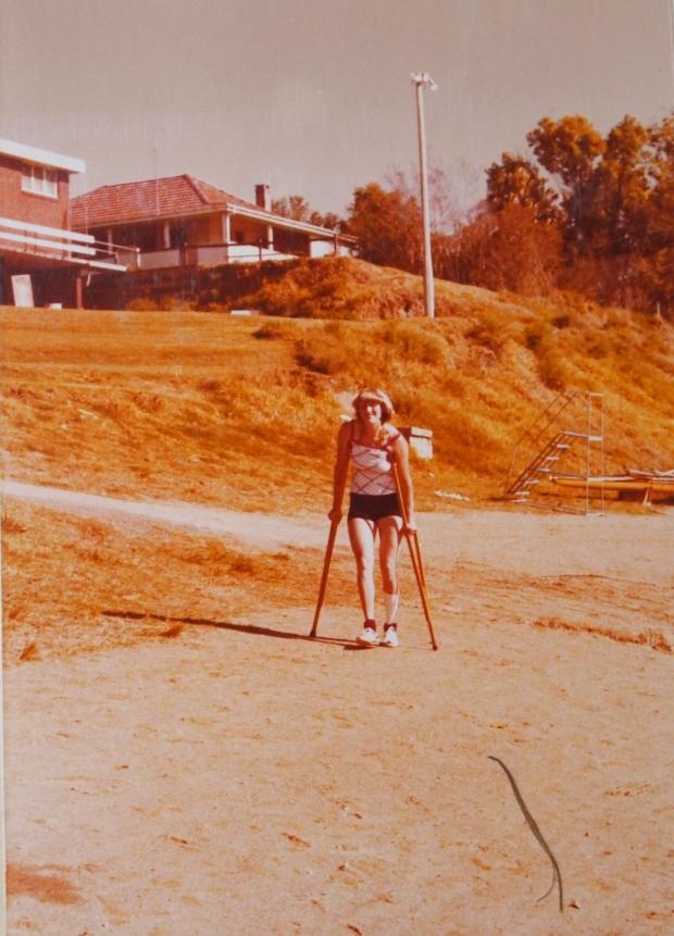 Astrid Ayling in Sydney 1978