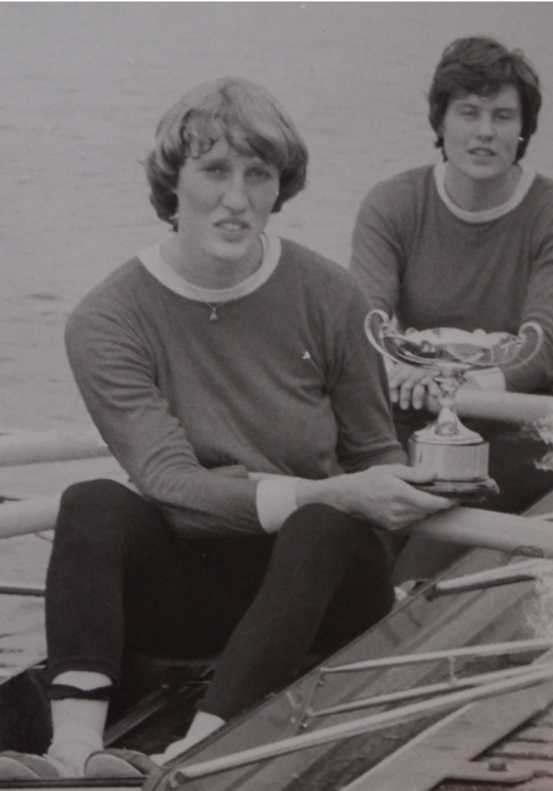 Astrid Ayling and Pauline Hart win the W Peer Cup in 1978