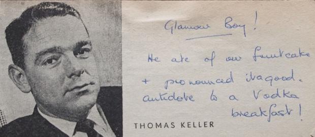 Thomas Keller likes cake