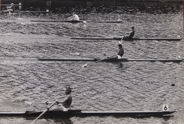 1964 Single sculls final